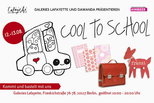 """Cool to School Event"" im Galeries Lafayette, Berlin"