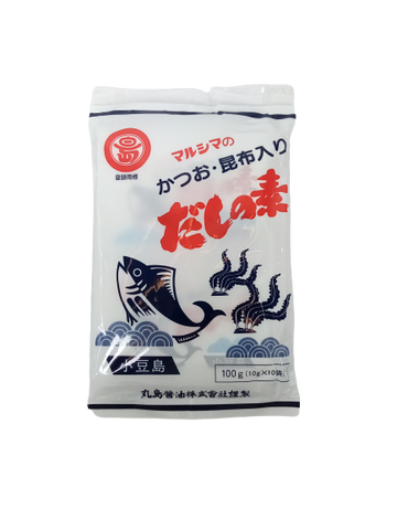 MARUSHIMA<BR>Dashi No Moto, NON-MSG Stock Powder 10g x 10p