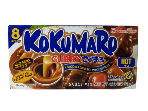 HOUSE<BR>Kokumaro Curry Scharf 140g<BR>  MDH:16.04.2021
