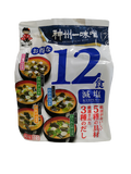 SHINSHUICHI<BR> Instant Miso-Suppe (12 Stück) 193g