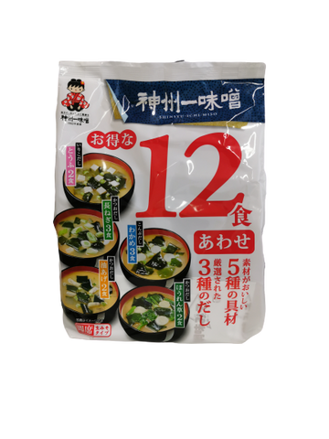SHINSHUICHI<BR> Gemischte Miso-Suppe Packung 193g