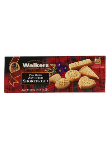 WALKERS<BR> Buttergebäcksortiment 160g
