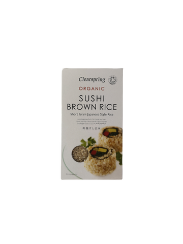 CLEARSPRING<BR>  Sushi Brown Rice 500g