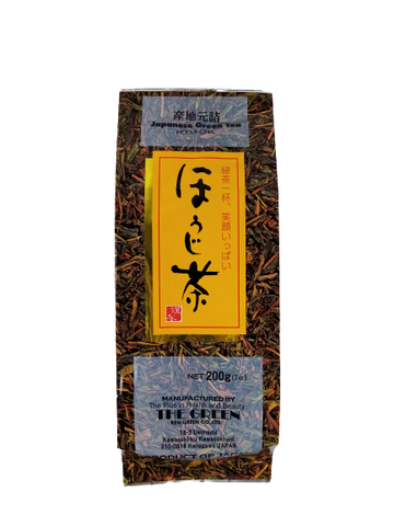 TSUNAKAWA<BR>Hojicha<BR>Roasted Tea 200g
