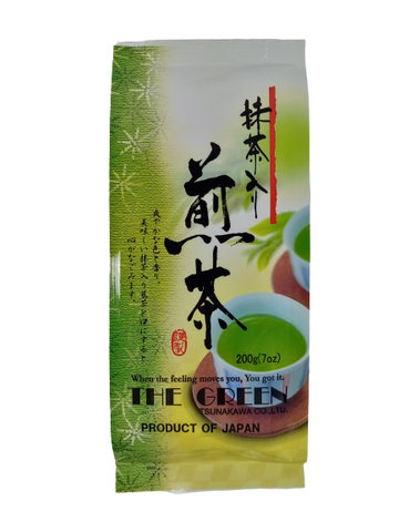 TSUNAKAWA<BR>Green Tea with Matcha 200g