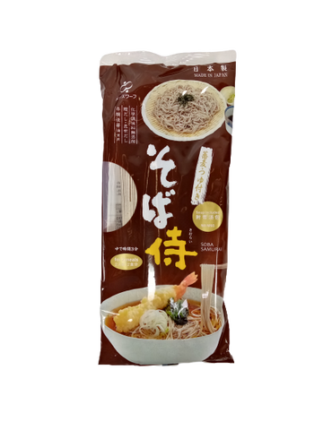 MENSWHARF<BR>Buckwheat Noodles with Soup Broth, Soba 240g