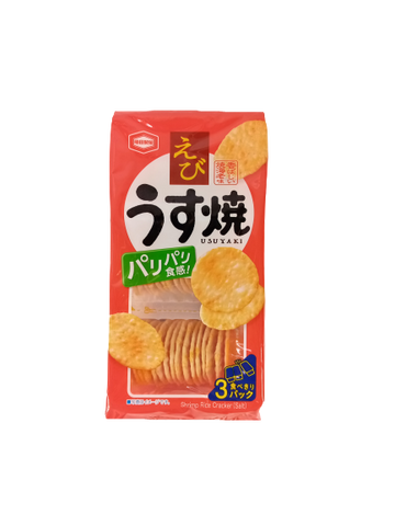 KAMEDA <BR> Rice Biscuits, Shrimp Flavor 80g