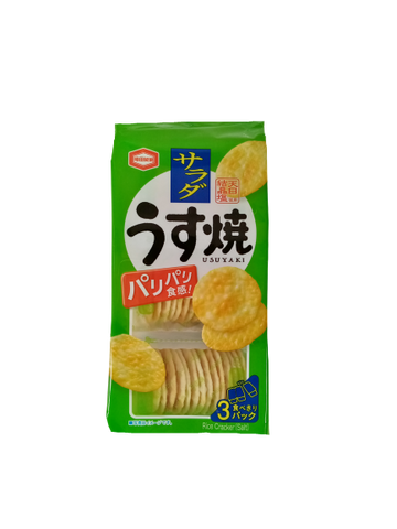 KAMEDA <BR> Rice Biscuits, Salad Flavor 85g