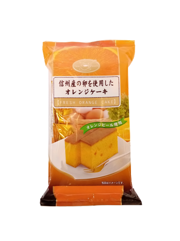 TENKEI <BR> Fresh Orange Cake 300g