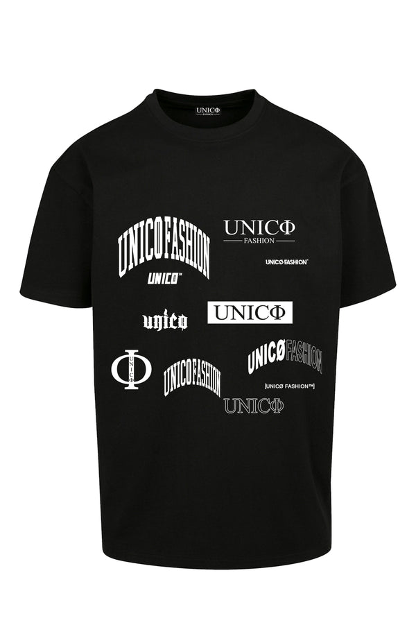 UNICØ LOGO BLACK TEE