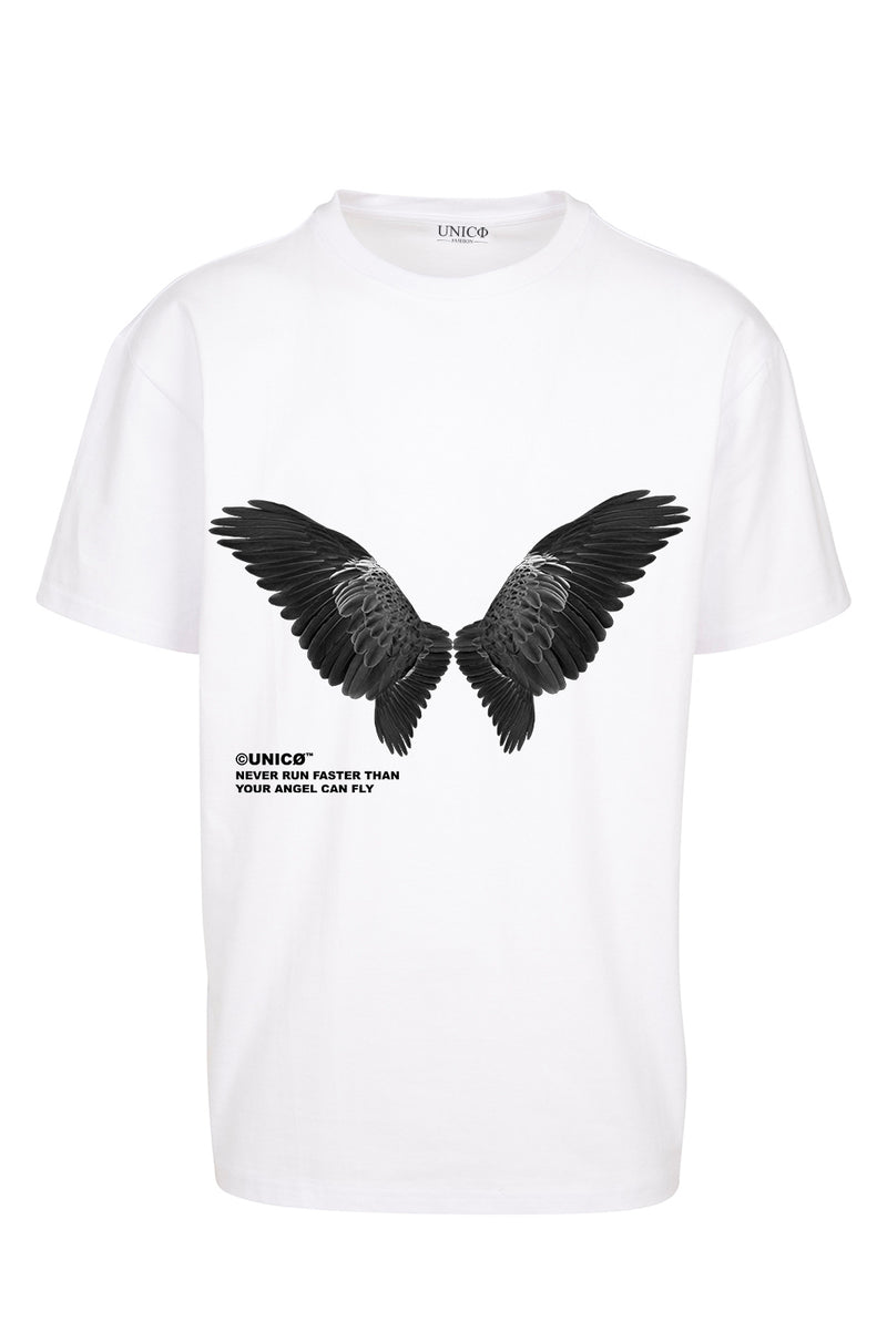 UNICØ ANGEL 2.0 WHITE TEE