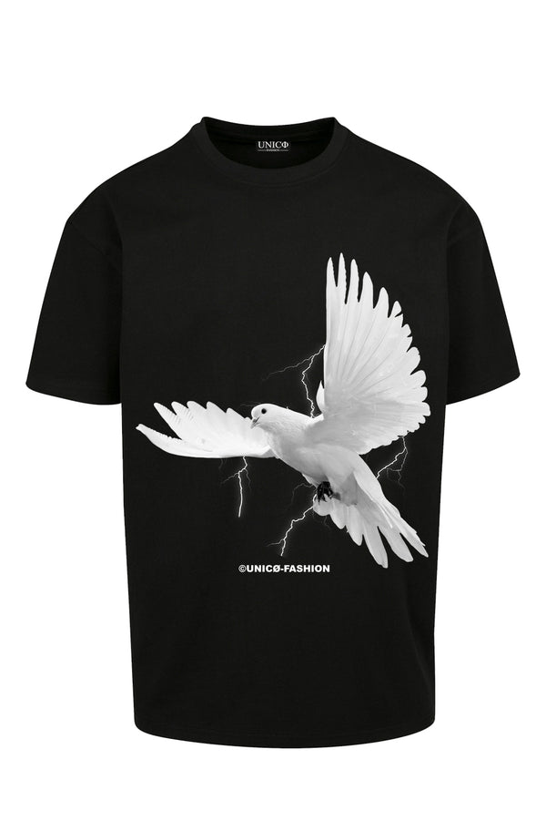 UNICØ DOVE BLACK TEE