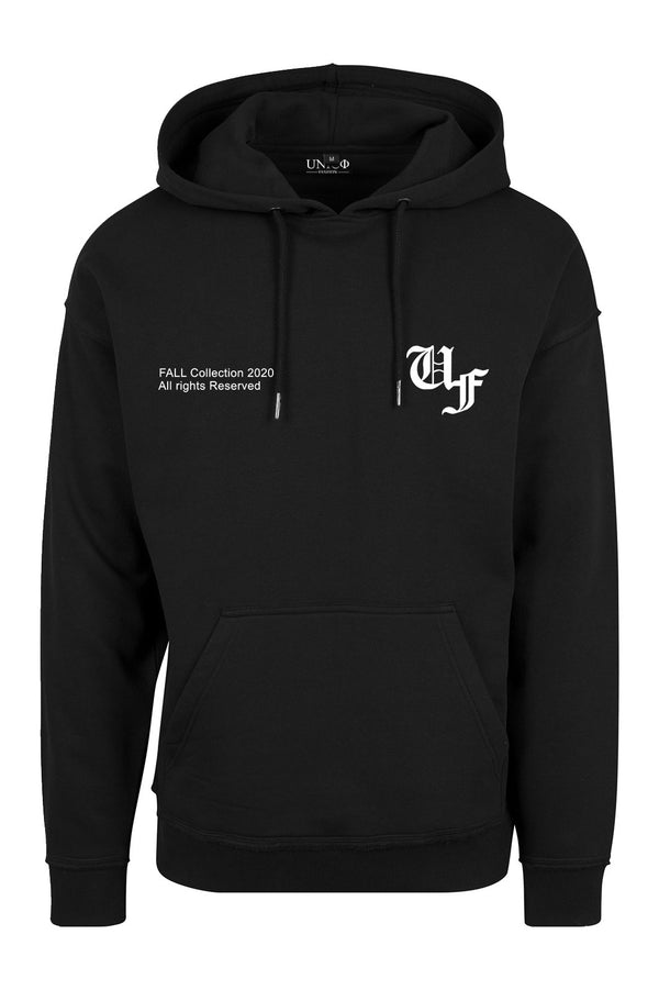 UNICØ FASHION FALL HOODIE BLACK