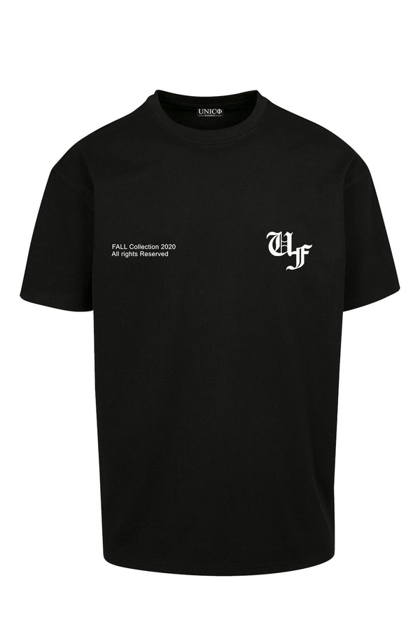 UNICØ FASHION FALL BLACK TEE