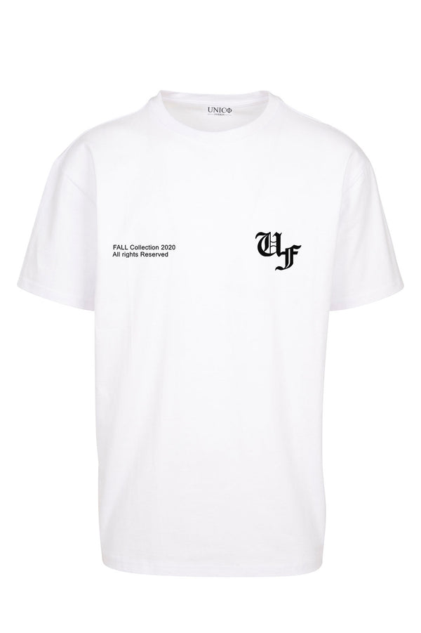 UNICØ FASHION FALL WHITE TEE