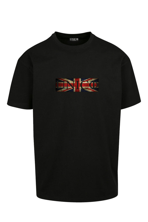 UNICØ FLAG BLACK TEE