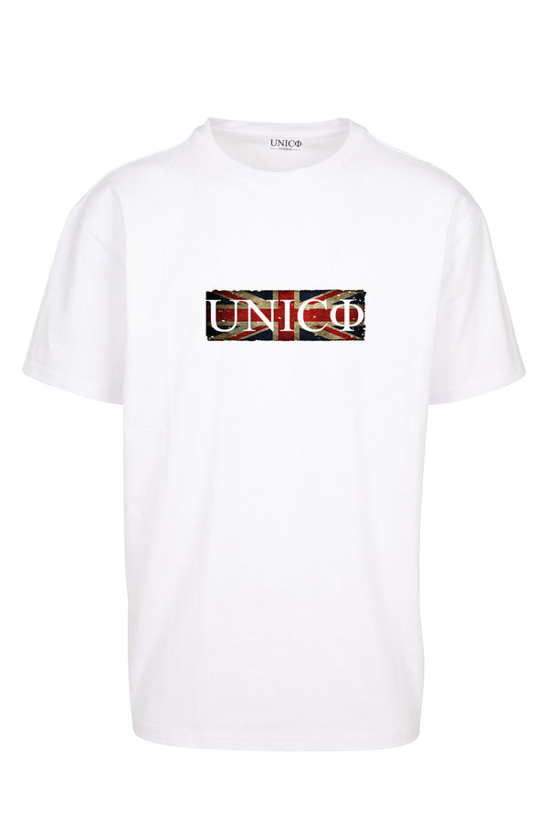 UNICØ FLAG WHITE TEE