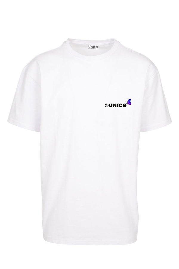 UNICØ BUTTERFLY 2.0 WHITE TEE