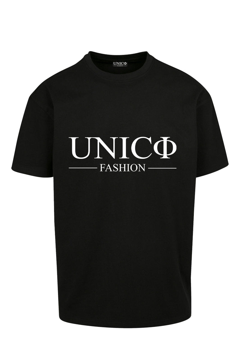 UNICØ-FASHION BLACK TEE
