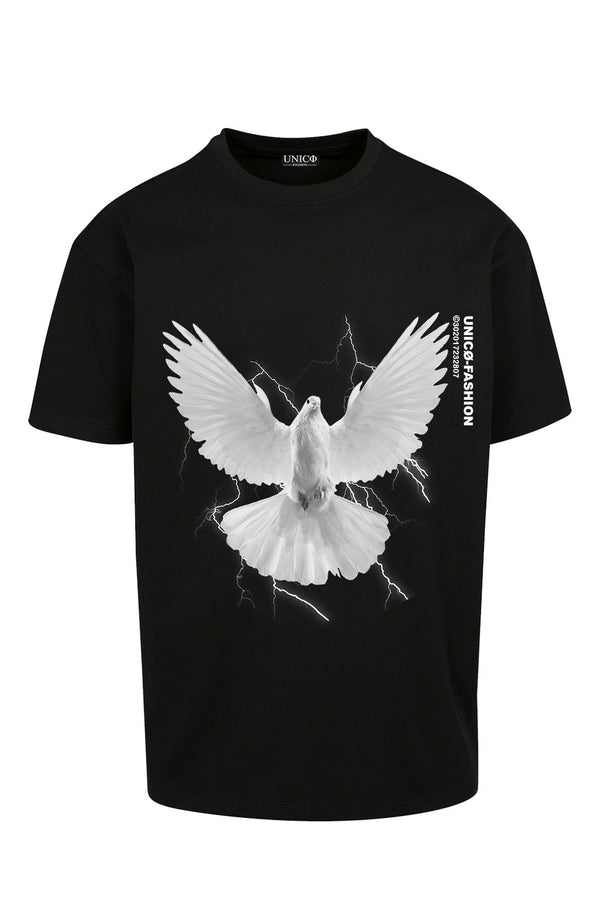 UNICØ DOVE 2.0 BLACK TEE