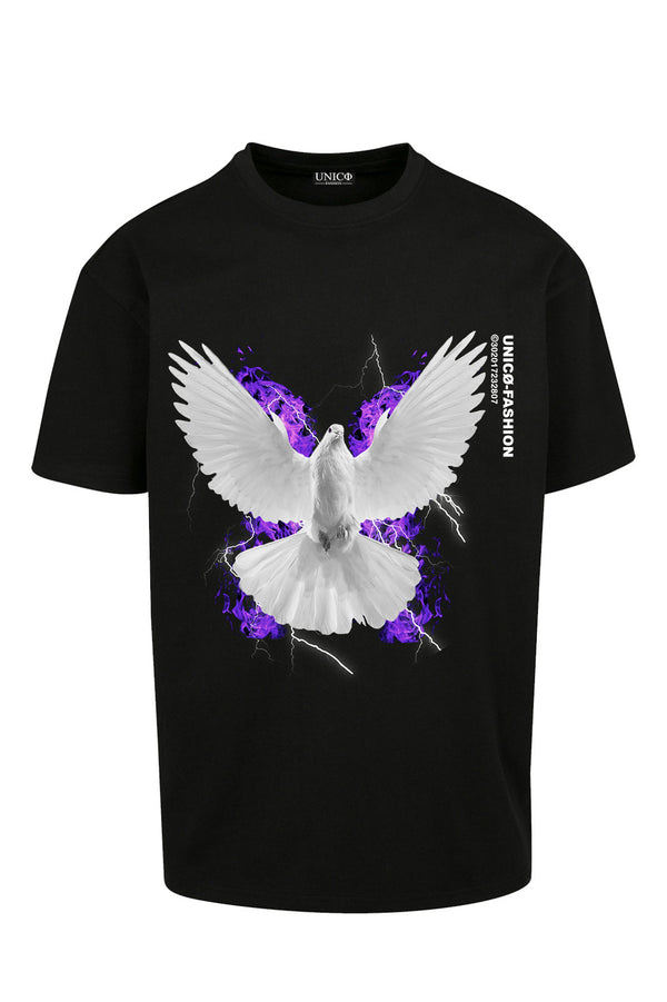 UNICØ DOVE 2.1 BLACK TEE