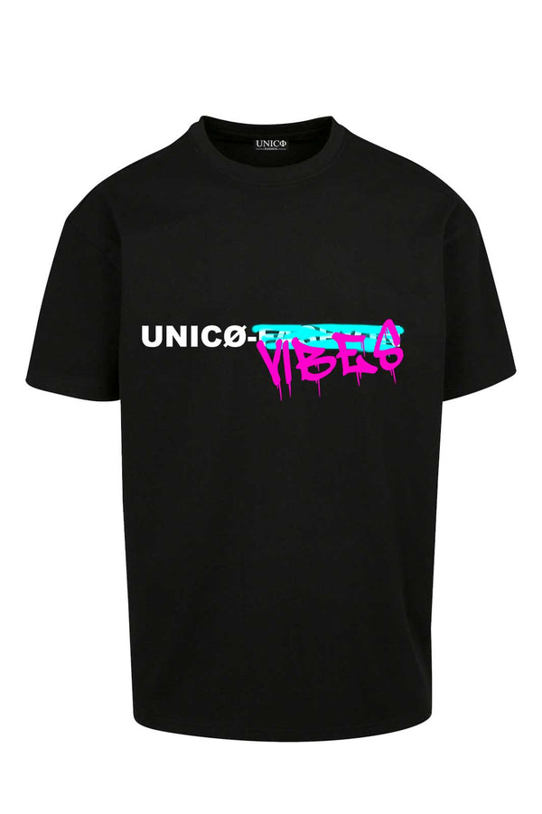 UNICØ VIBES BLACK TEE