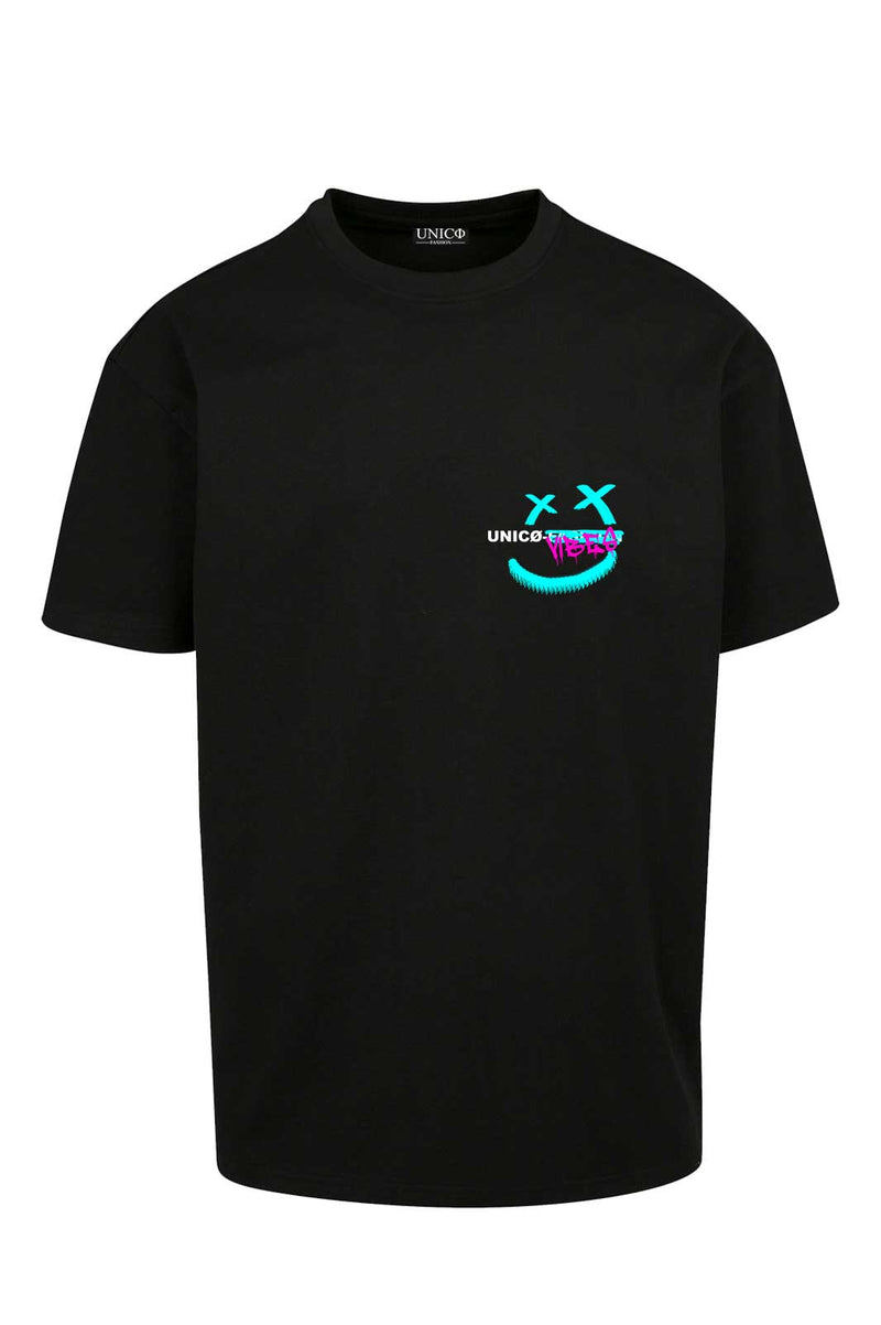 UNICØ VIBES 2.0 BLACK TEE