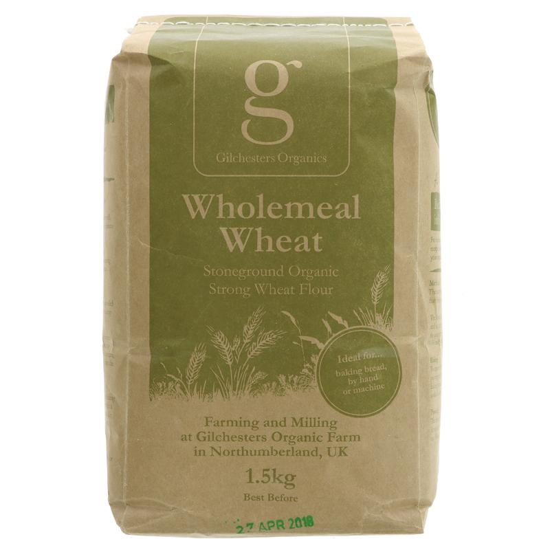Gilchesters Organics - Strong Wholewheat Flour (1.5kg)