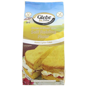 Glebe Farm - Gluten and Wheat Free Self Raising Flour (1kg)