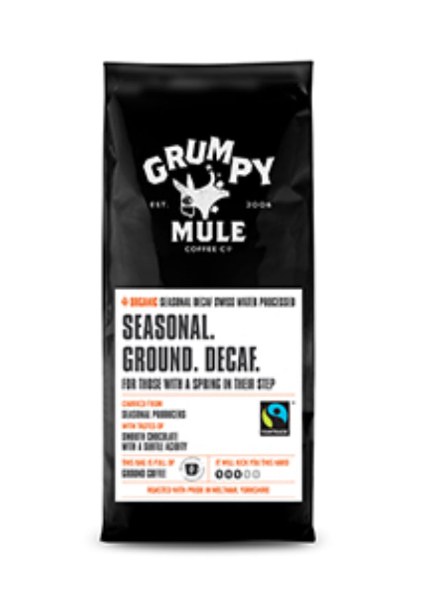 Grumpy Mule - Coffee Decaf Ground (227g)