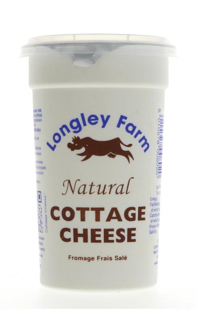 Longley Farm - Cottage Cheese - Natural Low Fat (250g)