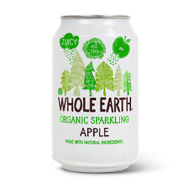 Whole Earth - Sparkling Apple Drink (330ml)