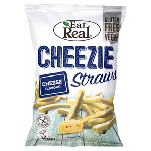Eat Real - Cheezie Straws (113g)