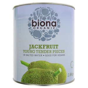 Biona - Organic Jackfruit Young Tender Pieces in Salted Water (400g)