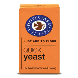Doves Farm - Quick Yeast (125g) or pre-soak Dried yeast