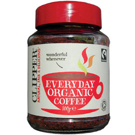 Clipper - Coffee - Everyday Organic Coffee Granules (100g)