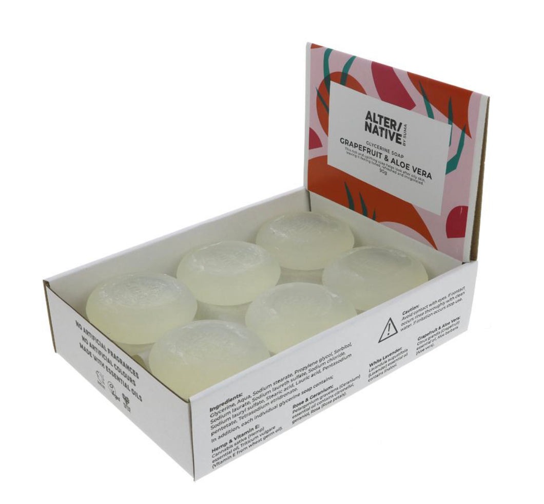 Alter/Native - Glycerine Soap Grapefruit & Aloe (90g)