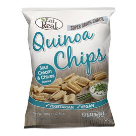 Eat Real - Quinoa Chips - Sour Cream & Chive (80g)