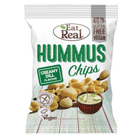 Eat Real - Hummus Chips - Creamy Dill (45g)