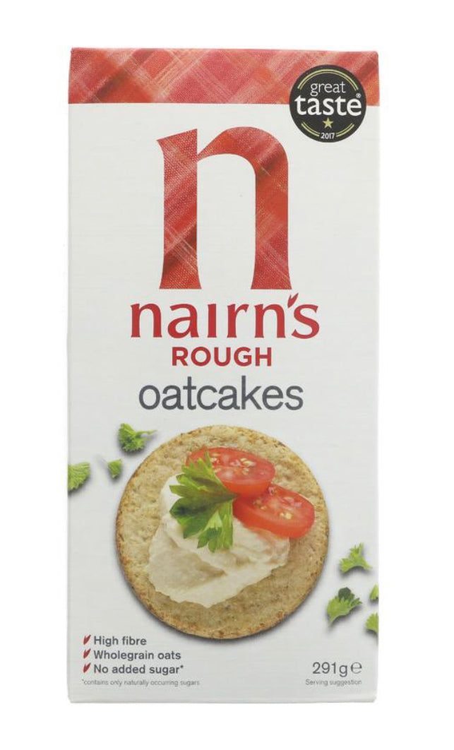 Nairns - Oatcakes Traditional Rough (291g)