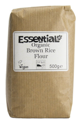 Stoneground Rice Flour Brown (500g)