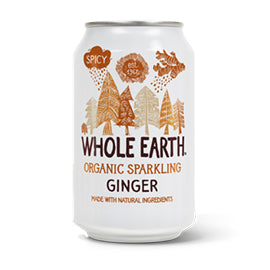 Whole Earth - Sparkling Drink - Ginger (330ml)