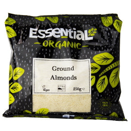 Almonds - Organic  Ground (250g)