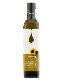 Clearspring - Sunflower Frying Oil (500ml)