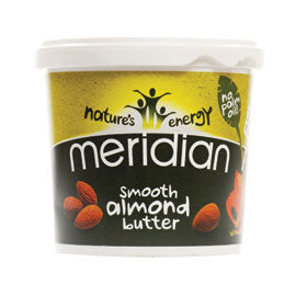 Meridian - Almond Butter Smooth 100% Nuts (1Kg)