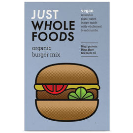Just Wholefoods - Vegan Burger Mix (125g)