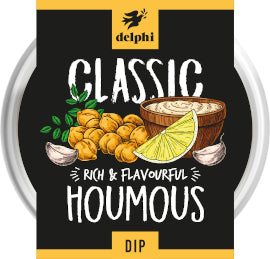 Delphi Foods - Houmous - Fresh With Olive Oil (170g)