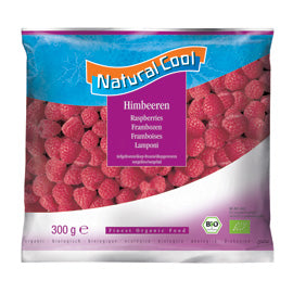 Natural Cool - Frozen Raspberries (300g)