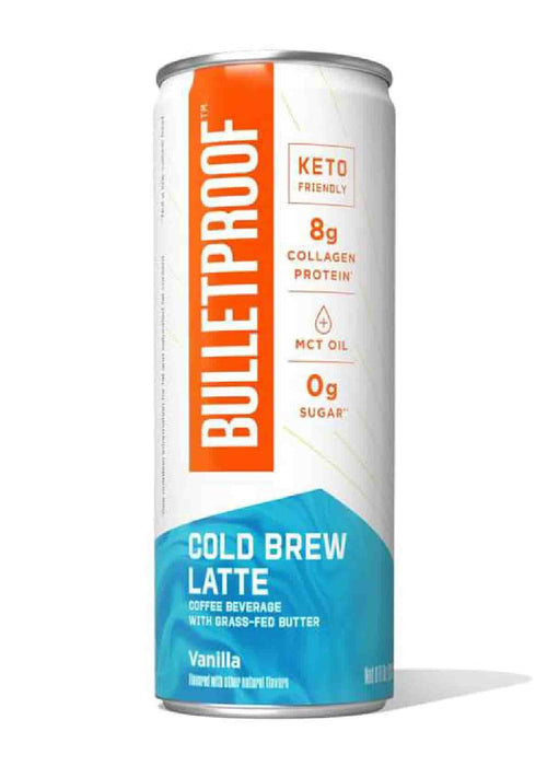 Bulletproof Cold Brew Latte Vanilla