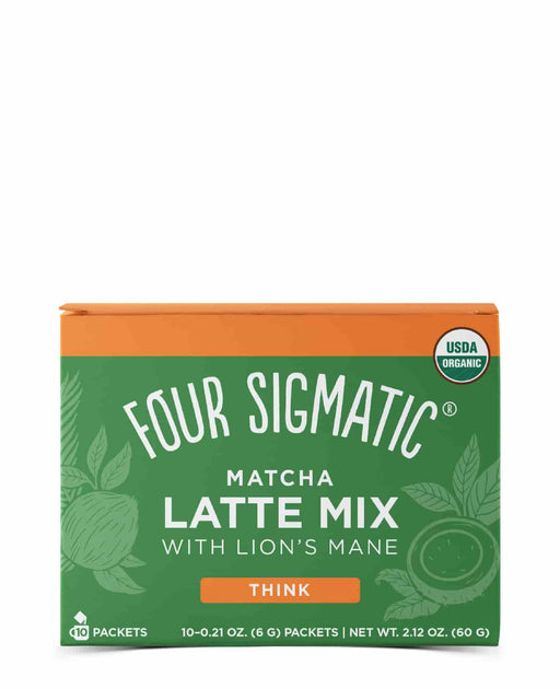 Four Sigmatic Matcha Latte with Lion's Mane